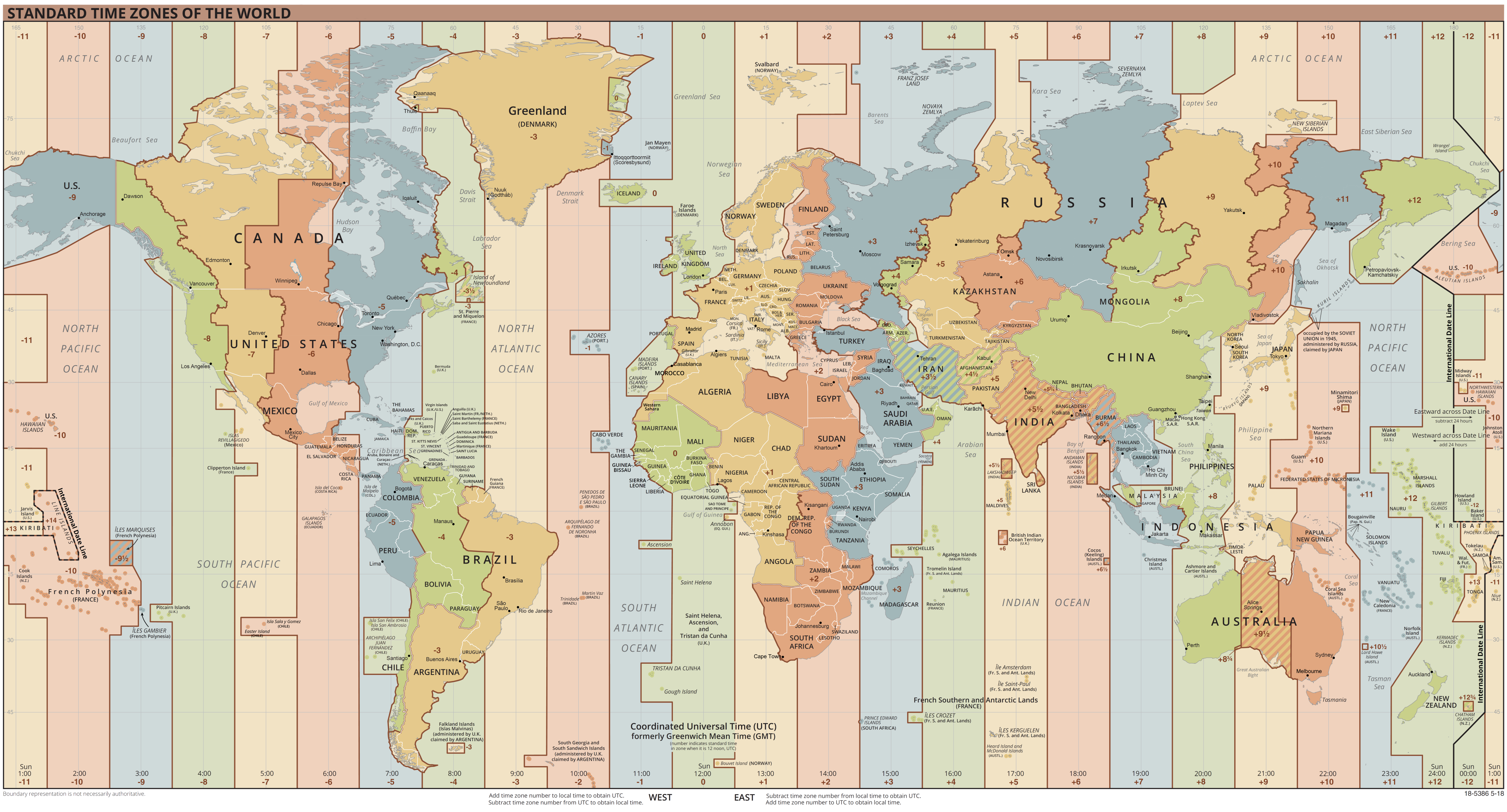 World Time Zones